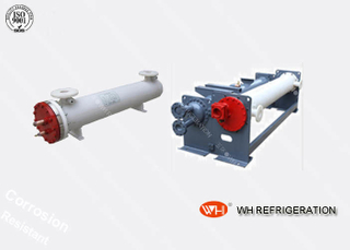 Industrial Titanium Dry Type Tube And Shell Heat Exchangers Evaporator For Salt Water