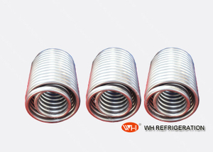 High Efficient Cost of Titanium Tube Condenser Coil And Evaporator Coil for Cooling/heating Chiller
