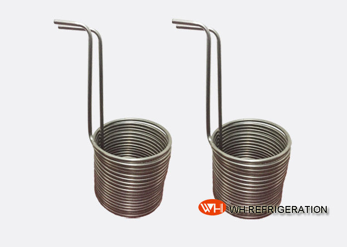 ISO Approved Copper Coil Industrial Heat Exchanger of Refrigerant Condenser Coils