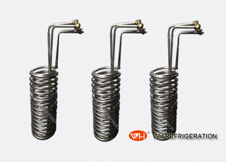 Titanium Tube Heat Exchanger , Coil Tubing Heat Exchanger For Seawater Heat Transfer