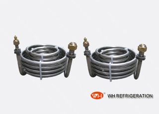 Stainless Steel 304 Tubing Coil Heat Exchanger For Vessel / Swimming Pool Equipment