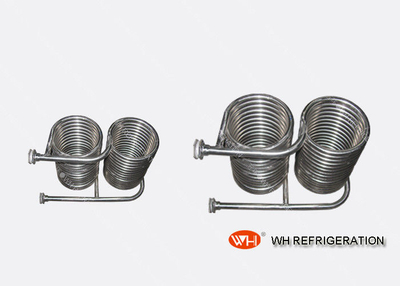 Custom Capacity Coil Heat Exchanger , Titanium Coil Tube 1 Year Warranty