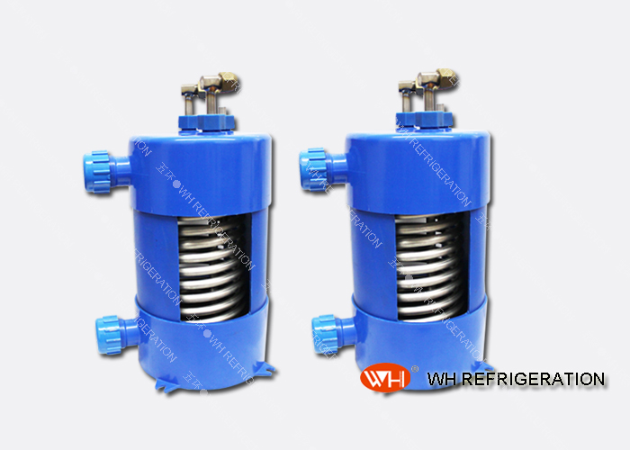 Anti-corrision Aquarium Water Cooling,heat Exchanger Freon Water,tube Heat Exchanger