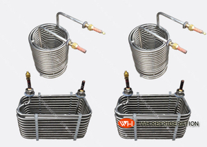 Spiral Grooved Stainless Steel Tube Heat Exchanger / Condenser High Effiency/stainless steel tube heat exchanger