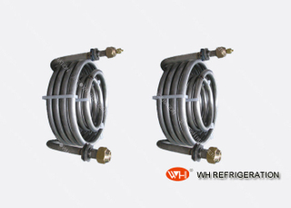 Stainless Steel Tube Coil Heat Exchanger For Chilled Water Cooling Corrosion Resistance