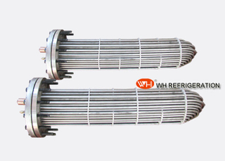 Stainless Steel 316L Water Cooled Evaporator , High Temperature Heat Exchanger
