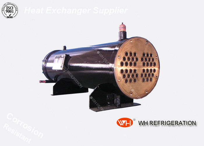 Low Temperature Coolers And Condensers 10kw U Tube Heat Exchanger Beu for 3hp Water Chiller Price