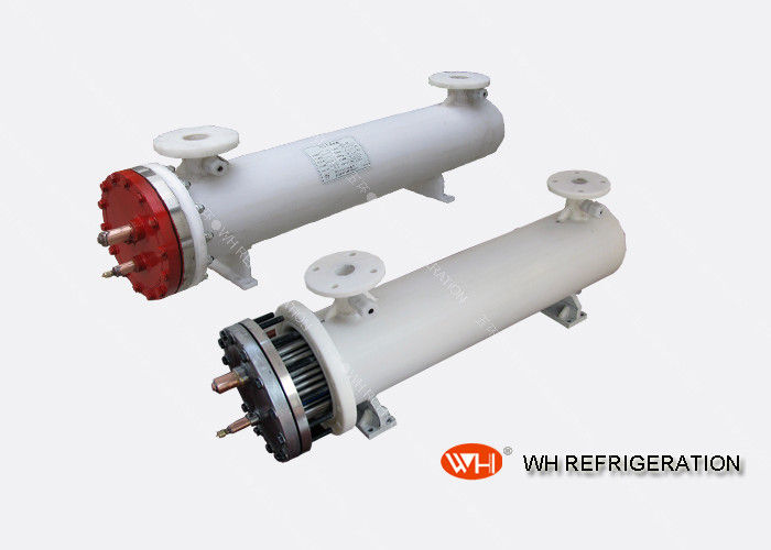 U Tube Type Marine Heat Exchanger , Stainless Steel Salt Water Pool Heat Exchanger
