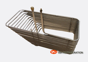 Smooth Titanium Heat Exchanger Coil For Water Tank / Seawater Heat Transfer