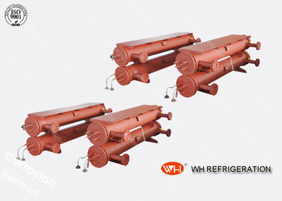 Industrial Shell And Tube Heat Exchanger , R410a Tube Stainless Steel Evaporator