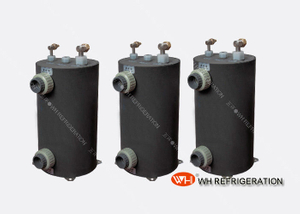 Shell And Tube Swimming Pool Heat Exchanger , Titanium 15KW Tubular Heat Exchanger