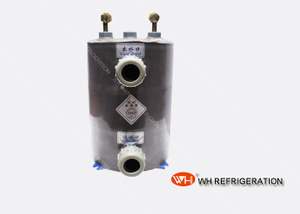 HVAC Systems & Parts Pool Heating Shell Tube Heat Exchanger of Titanium Swimming Pool Heat Exchanger