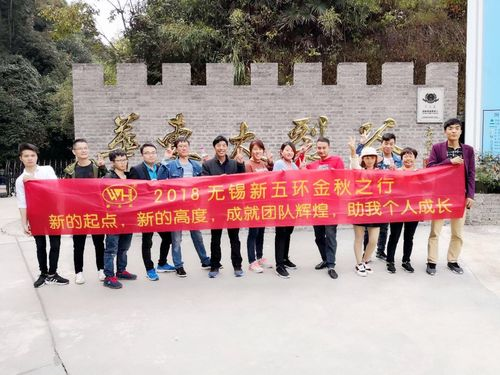 New Wuhuan senior staff collective travel for three days.