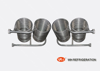 Stainless Steel Immersion Coil Type Heat Exchanger For Seawater Heat Transfer