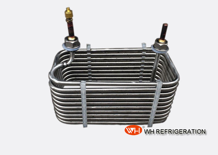 Sprial Stainless Steel Coil Heat Exchanger Seamless Strong Material Strength