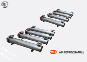Shell And Tube Type Industrial Heat Exchanger For Heating And Cooling 10HP