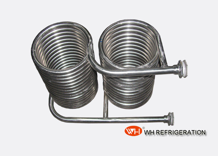 Seamless 316L Stainless Steel Coil Heat Exchanger OD 25 MM Tube Spiral Type
