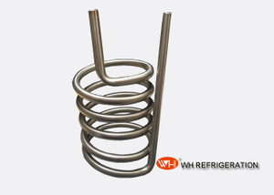 Spiral Coil Heat Exchanger , Sea Water Condenser Heating Coil Corrosion Resistant