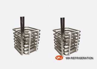 Stainless Steel Tube Coil Heat Exchanger Condenser Coil For Air Conditioner