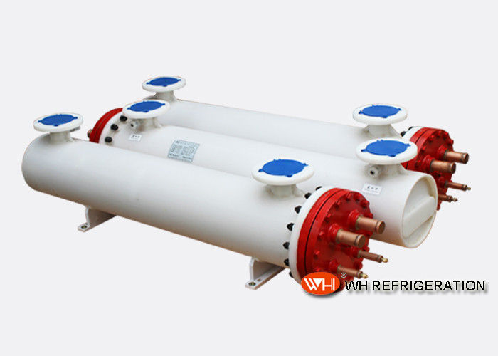 Shell & Tube Water Chiller Heat Exchanger , Shell And Tube Condenser For Cooling Industry