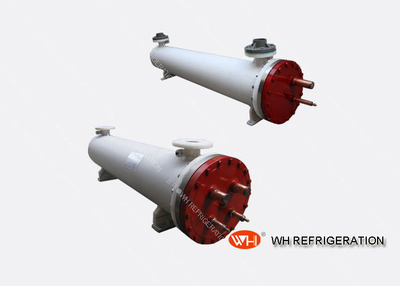 Tube And Shell Air Unit Evaporator Shell & Tube Type Heat Exchanger For Chiller Systems