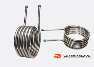 Stainless Steel Spiral Coil Heat Exchanger Refrigerator Evaporator Tubes In Coils